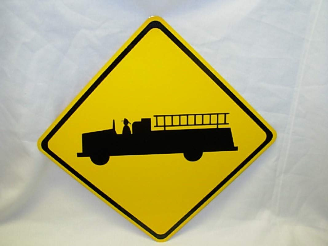 Fire engine Rescue Truck Mini Ranking TOP10 Metal F Road NEW Sign 6