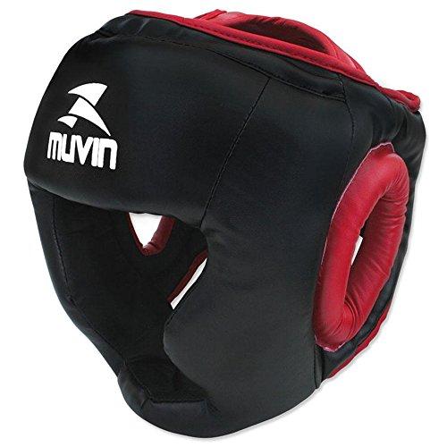 Protetor de Cabeça Muvin Ptc-100 - Preto/vermelho - G/gg
