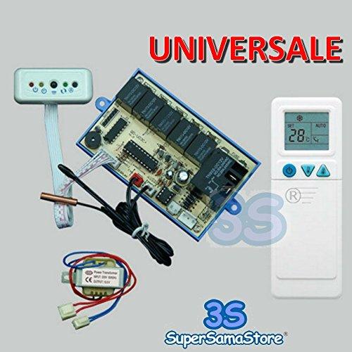 Telecomando universale più scheda per climatizzatore split - tecnologia ON-OFF