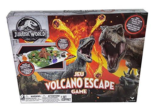 Cardinal Industries 6044456 Jurassic World Volcano Escape Game, Multicolor