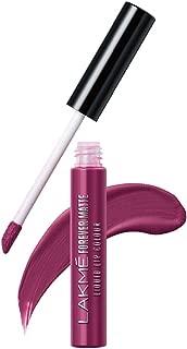 Lakme Forever Matte Liquid Lip Colour, Purple Pout, 5.6 ml