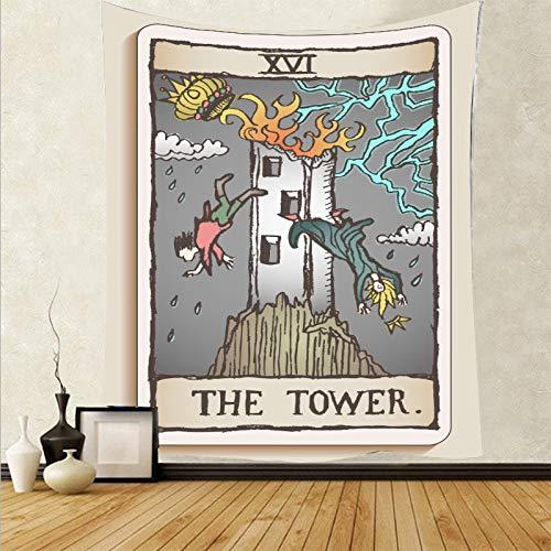 Tapiz personalizado mini tarjeta de tarot tapiz abstracto colgante de pared psicodélico alfombra de pared telón de fondo tela a4 130x150cm