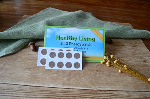 B-12 Energy Patch Boost Energy Levels