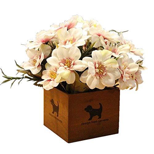 Jnseaol Flores Artificiales Flores Artificiales Sala De Estar Escritorio...
