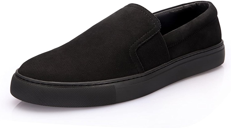 Mode Mans Mans Mans skor svart Foots  Comfortable and Andable skor  Leisure Loafer skor  billiga märkesvaror