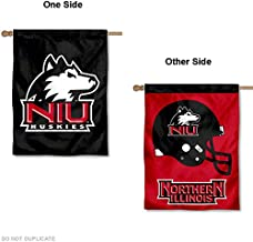 College Flags and Banners Co. Northern Illinois Football Helmet Banner House Flag