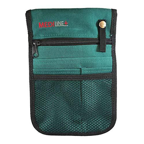 Riñonera con cinturón ajustable, color verde