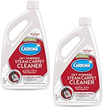 Carbona® Oxy-Powered Steam Carpet Cleaner | Professional Strength Deep Clean Solution | Stain & Odor Fighting Solution | 48 Fl Oz, 2 Pack