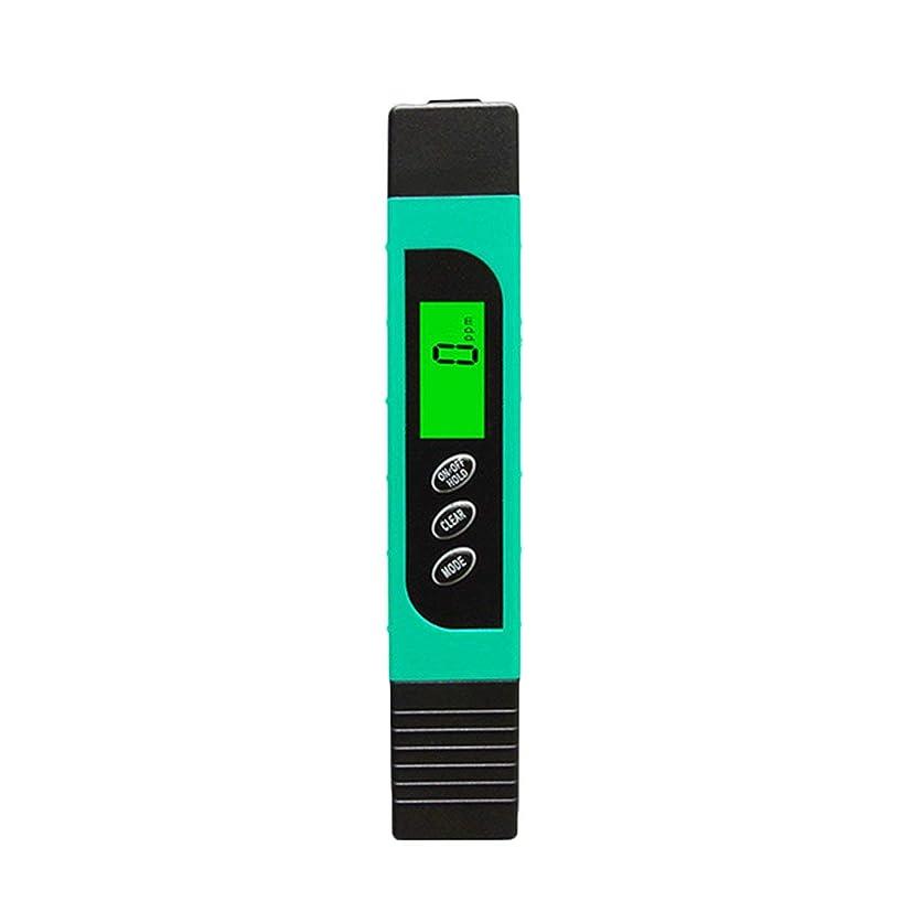 ミシンゆるくコーチ多機能TDSメーターテスターポータブルデジタルペン0.01高精度フィルター測定水質純度テストツール - ブルー