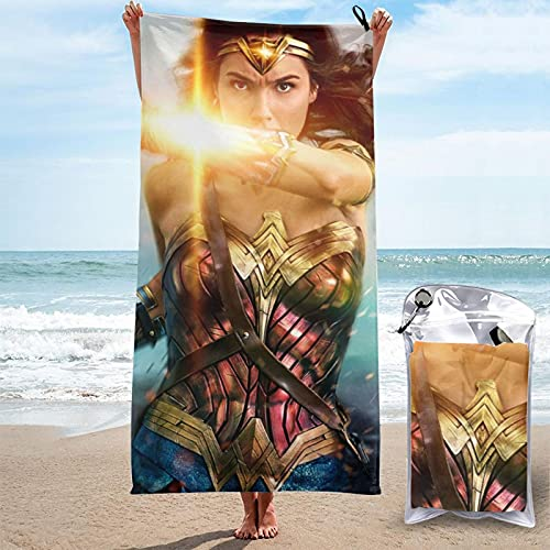 Captain Marvel Quick Dry Towel Microfiber Lightweight For Adult Soft Beach...