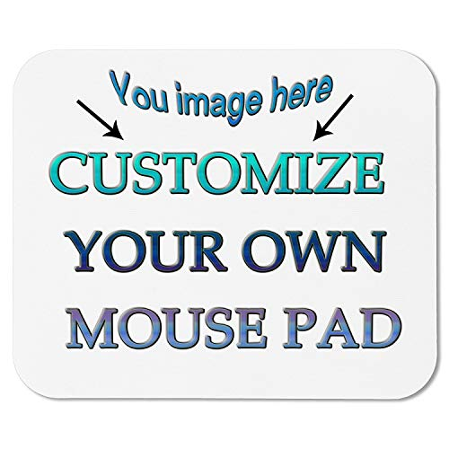 Perfect Gift Idea Personalized Photo Mouse Pad for A Unique Personalized Gift - Mousepad Add Pictures Text Logo Or Art Design and Make Your Own Customized Mousepad