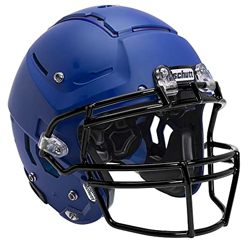Schutt Sports F7 LX1 Youth Football Helmet (Facemask NOT Included), Matte Royal Blue, Small