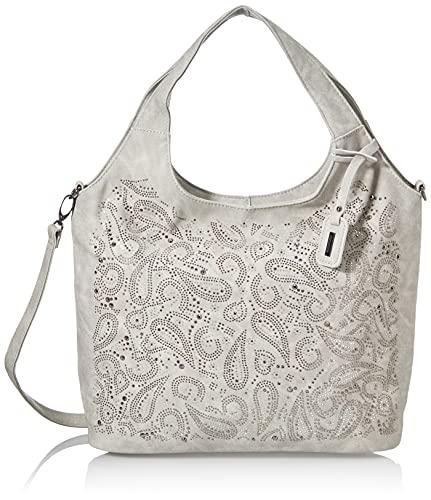 Remonte Damen Q0659 Handtasche, grey / 42, Uni