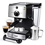 Gevi Espresso Machines 15 Bar Fast Heating Cappuccino Coffee Maker with Foaming Milk Frother Wand...