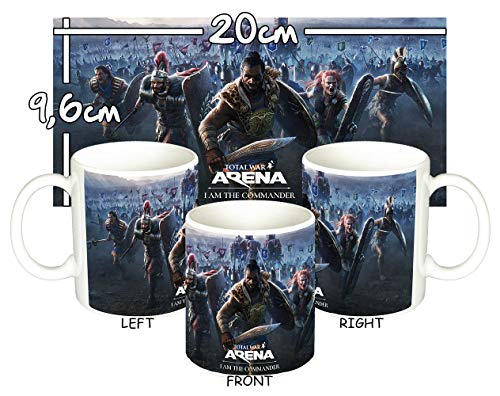 MasTazas Total War Arena I Am The Commander Taza Mug