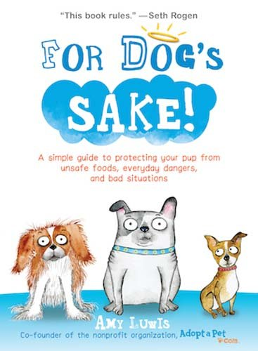 Best books on canine health - For Dog's Sake!: A Simple Guide to Protecting Your Pup from Unsafe Foods, Everyday Dangers, and Bad Situations