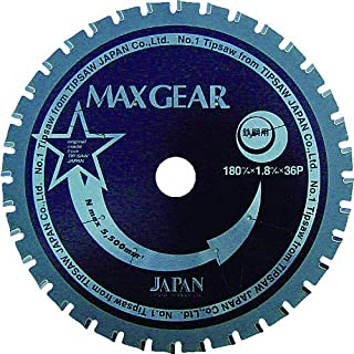 チップソージャパン マックスギア鉄鋼用125 MG125