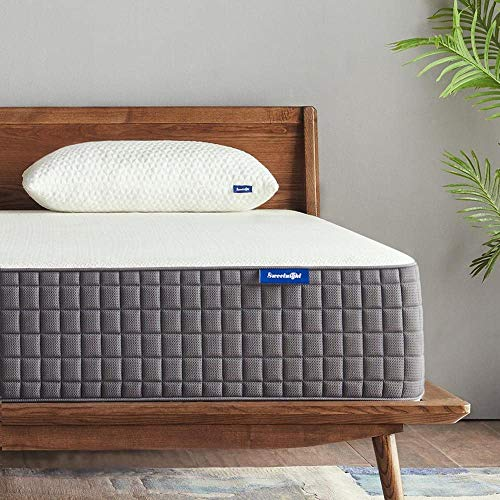 Queen Mattress, Sweetnight Breeze 12 Inch Queen Size Mattress Medium Firm, Ventilated Memory Foam Mattress for a Deep Sleep, Supportive & Pressure Relief
