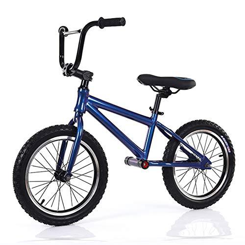 Bicicletta YXX- Prima Bici Senza Pedali Adulti Gioventù Senza Pedali Balance Bike Ruote da 16 Pollici, Spinta Leggera con Poggiapiedi, Regalo di Compleanno per Bambini Grandi,