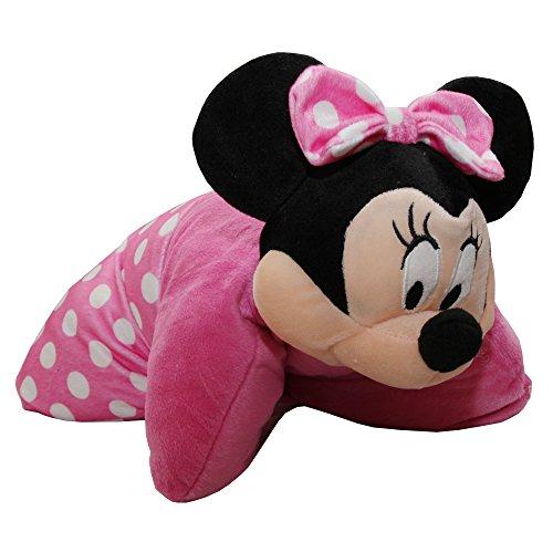 Disney Kinder 3D Kissen Minnie Mouse (38 x 38 cm) (Pink)