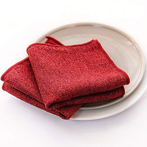 GEVJ Sterke Decontaminatie Scouring Pad Friction Polijsten Schoonmaakdoek Microvezel Vaatdoek Super Wasmiddelen Huishoudelijke 3 Stks