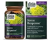 Stress Response with Rhodiola, Ashwagandha Holy Basil (30 Vegetarian Liquid Capsules)