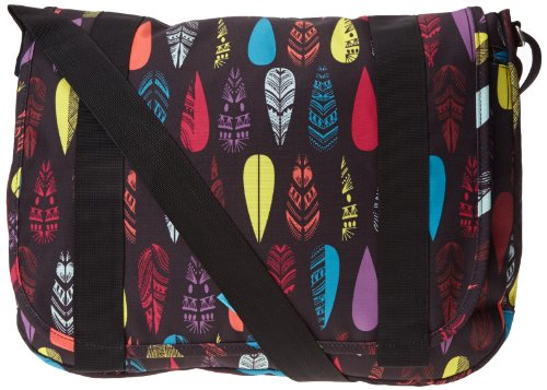 Roxy dames laptoptas Love Alot Feather X3, anth ax etnic, 30 x 40 x 10 cm, 15,5 liter, WTWBA1261-KVJ2