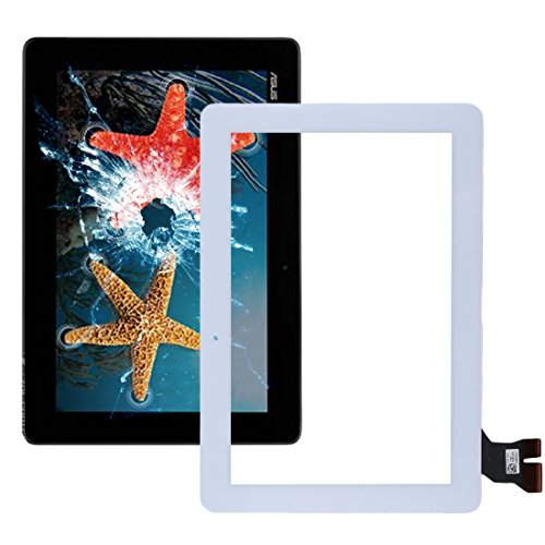 kangruwl Reemplazar revisión por Partes telefónicas Pantalla táctil IPartsBuy for ASUS Memo Pad 10 / ME103 Accesorios (Size : White)