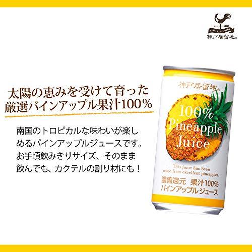 富永貿易『神戸居留地パインアップル100%』
