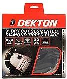 Dekton DT80455 - Hoja de sierra de diamante segmentada (230 mm)