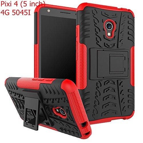 Alcatel Pixi 4 (5 inch) 4G 5045I Case,Mustaner Full-body Protective Case Dual...
