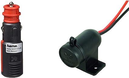 Hama Sicherheits Universalstecker 16 A Für Kfz Elektronik