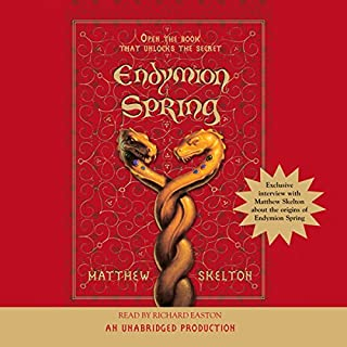 Endymion Spring audiobook cover art