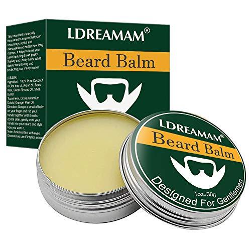 Balsamo per barba,baffi Cera,Cera per Baffi e Barba,Balsamo per barba da uomo,Per una presa forte e per uno styling con profumo,Prenditi cura della tua barba con il prodotto perfetto per la sua cura