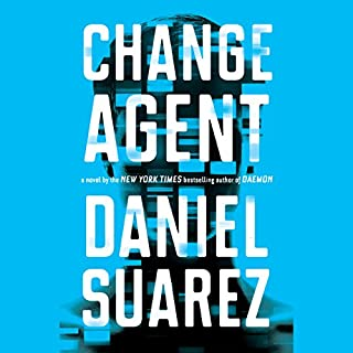 Change Agent audiobook cover art