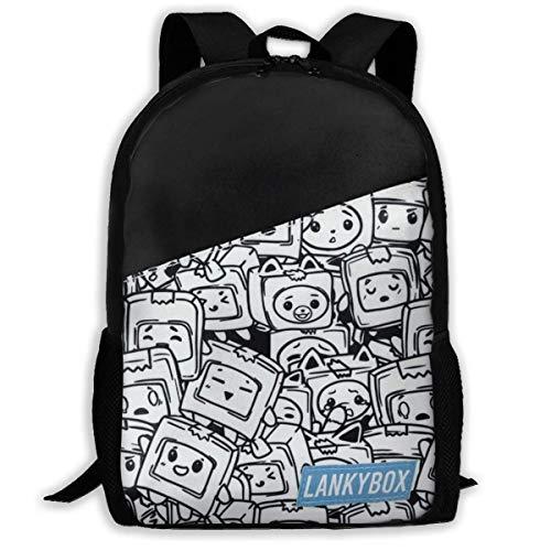 maichengxuan Mode Cute_Lankybox School Rugzakken voor Kids Daypacks Schooltassen Waterdicht