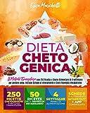 DIETA CHETOGENICA: Raccolta Completa: Il Metodo Triangolare con 250 Ricette e Diario Alimentare di 4 settimane per perdere peso. Include schede di allenamento e Dieta Risveglia Metabolismo