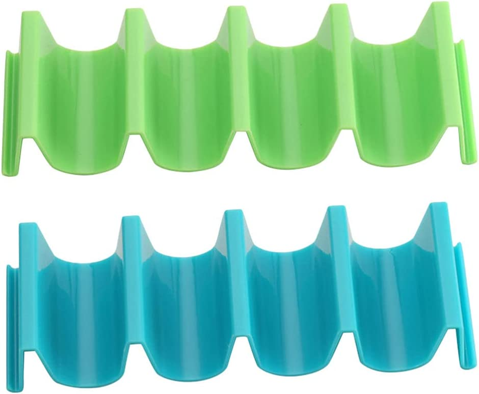 HEMOTON Max 45% OFF Plastic Super Special SALE held Taco Holder Stand Sta Shell Set Plates