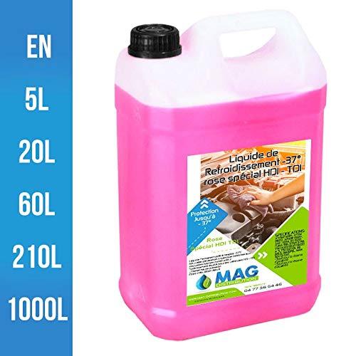 Mag Distribution LR37HDITDI - Líquido refrigerante (37º), color rosa