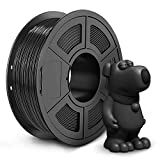 JAYO ABS Filament 1.75mm, 1kg Spool (2.2lbs) ABS 3D Printer Filament, Accuracy +/- 0.02 mm, No Tangle, No Clogging, Tougher Than PLA, Fit Most FDM Printers, ABS Black
