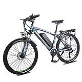 LZMXMYS Bicicleta eléctrica, 26' Frenos Tektro doble disco eléctrico bicicleta de montaña, 350W sin escobillas del motor, desmontable 36V / 13Ah Batería de Litio, 27 de transmisión, la horquilla de su