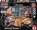 Schmidt Spiele 59655 Secret, Ferienhaus, 1000 Teile Puzzle, bunt -