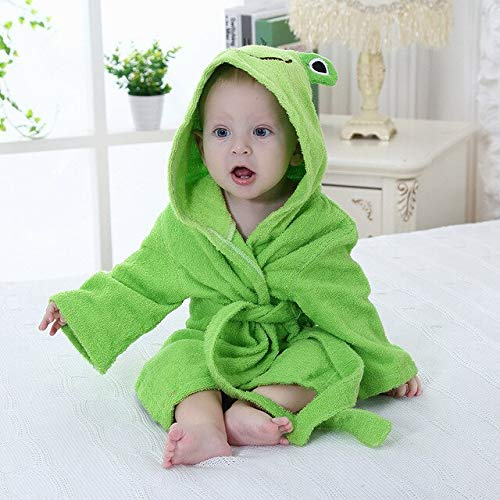 0-6T Hooded Animal Modellierung Baby Bademantel/Cartoon Baby Spa Handtuch/Charakter...