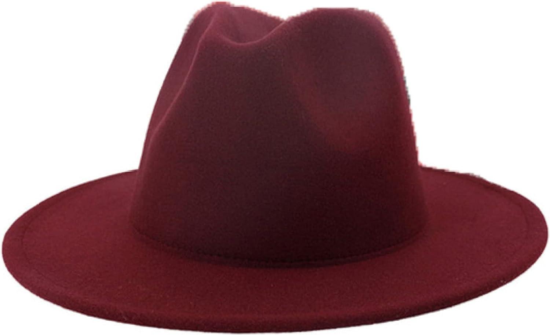 ASO-SLING Womans Floppy Hats Adjustable Wide Brim Fedora Bowler Cap Warm Crushable Cloche Elegant Church Hat for Wedding