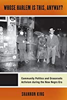 Whose Harlem Is This, Anyway?: Community Politics and Grassroots Activism during the New Negro Era (Culture, Labor, History)