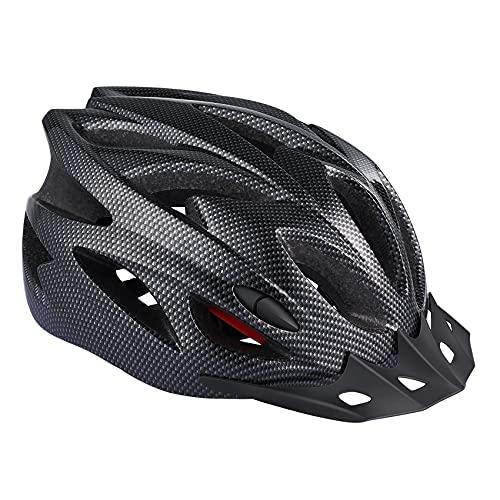 Zacro Lightweight Bike Helmet, Cycle Helmet Adjustable Size for Adult with Detachable Liner and a Headband, Grey