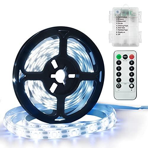 DreiWasser Tira de luz LED 1,5m 90 LED, tira de luz tira de...