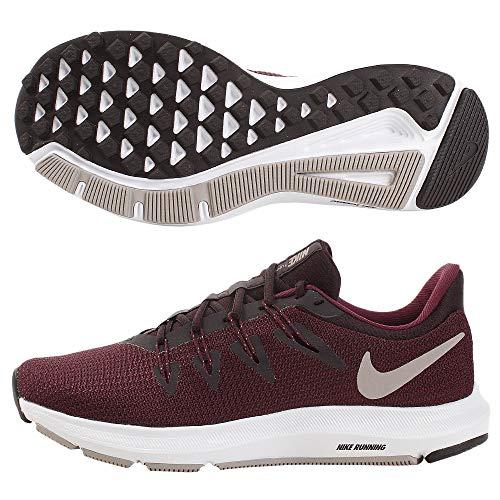 Nike Damen WMNS Quest Leichtathletikschuhe, Mehrfarbig (Burgundy Ash/Pumice/Bordeaux/White 602), 36.5 EU