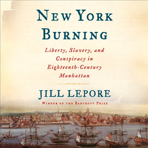 New York Burning audiobook cover art