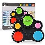Kohyum Handkonsolen mit Lichtern Tönen Toy Quiz Game Bunte ABS Kunststoff Memory Lernspielzeug für...